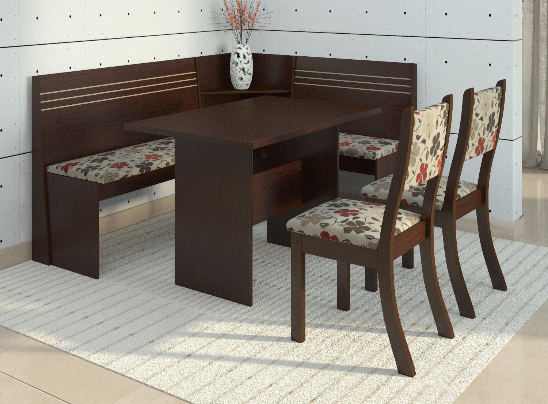 Sala De Jantar Westing ~ Canto Alemão Com 2 Cadeiras Scan Siena Móveis  R$ 529,90 em Mercado